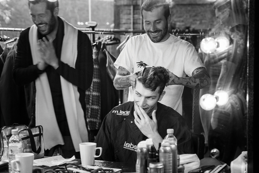 Behind the scenes at the Gieves & Hawkes autumn/winter  2016 show
