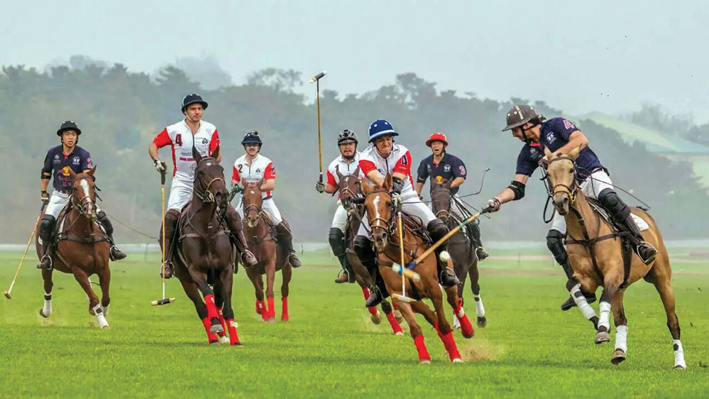 The Hong Kong Polo Team in Beijing