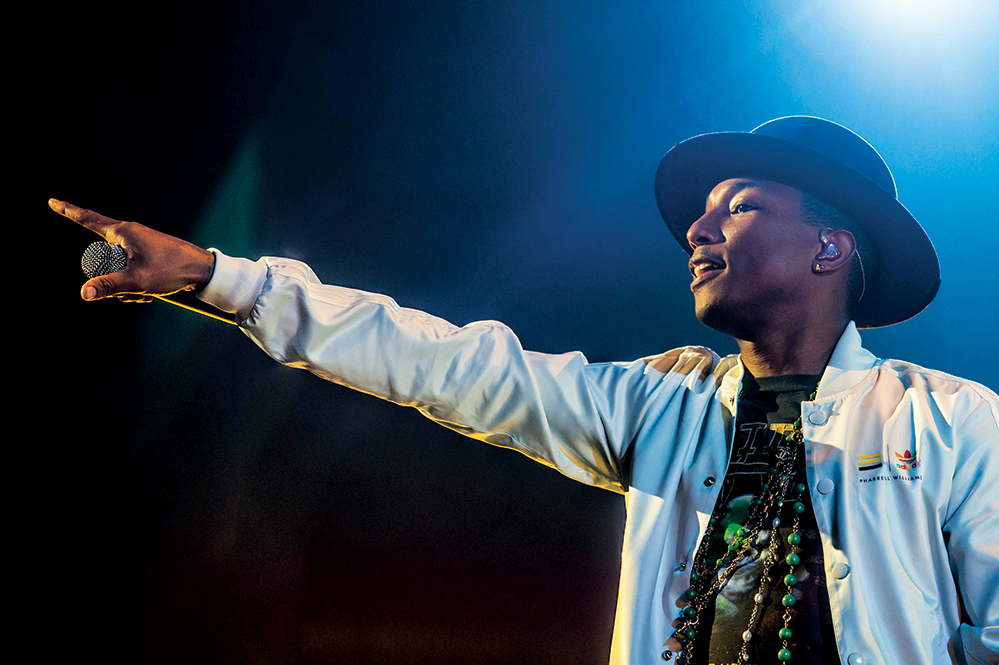 Music producer and Happy singer Pharrell has amassed 10 Grammy awards throughout an illustrious career