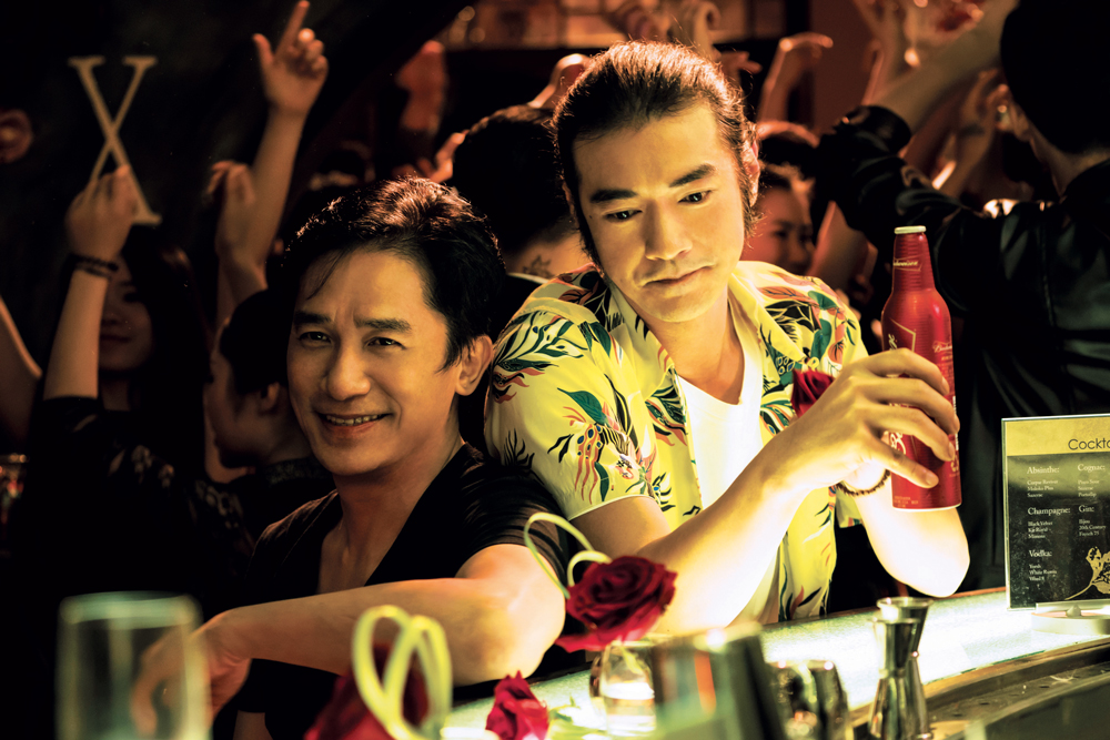Tony Leung and Takeshi Haneshiro share a scene in See You Tomorrow