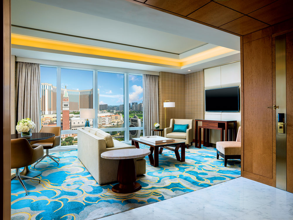 The Metropolitan Suite at the St Regis Macau