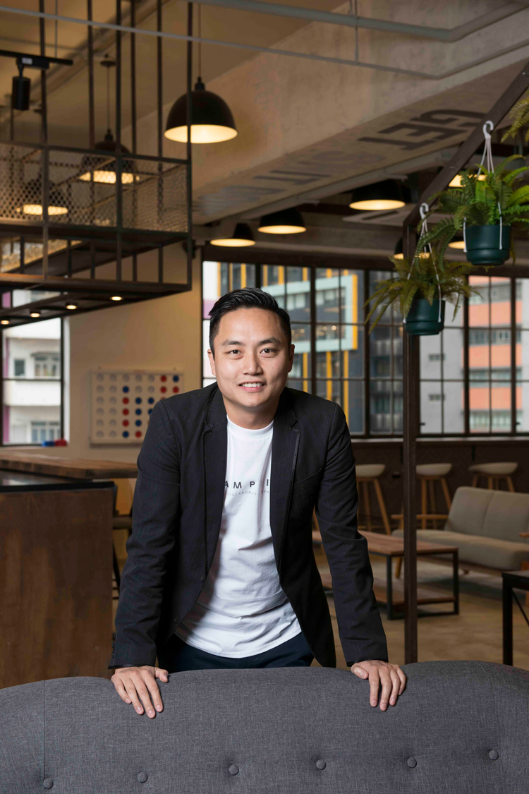 Wang Tse, co-founder and CEO of Campfire Collaborative Spaces