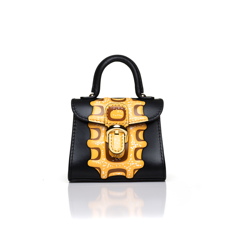 The Liège bag, honouring the birthplace of Belgian waffle