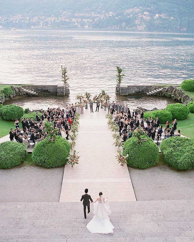 Flossie Pang and Keith Poon's wedding in Lake Como (Photo: @josevilla)