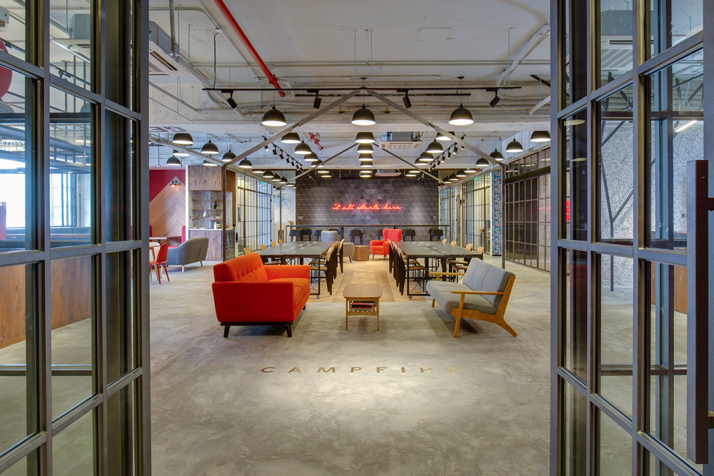 Campfire Collaborative Spaces is one of the coolest new co-working options in Hong Kong