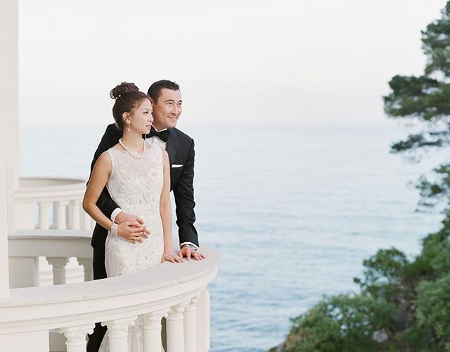 Joanna Lui And Troy Hickox's wedding in Monaco (Photo: Greg Finck)
