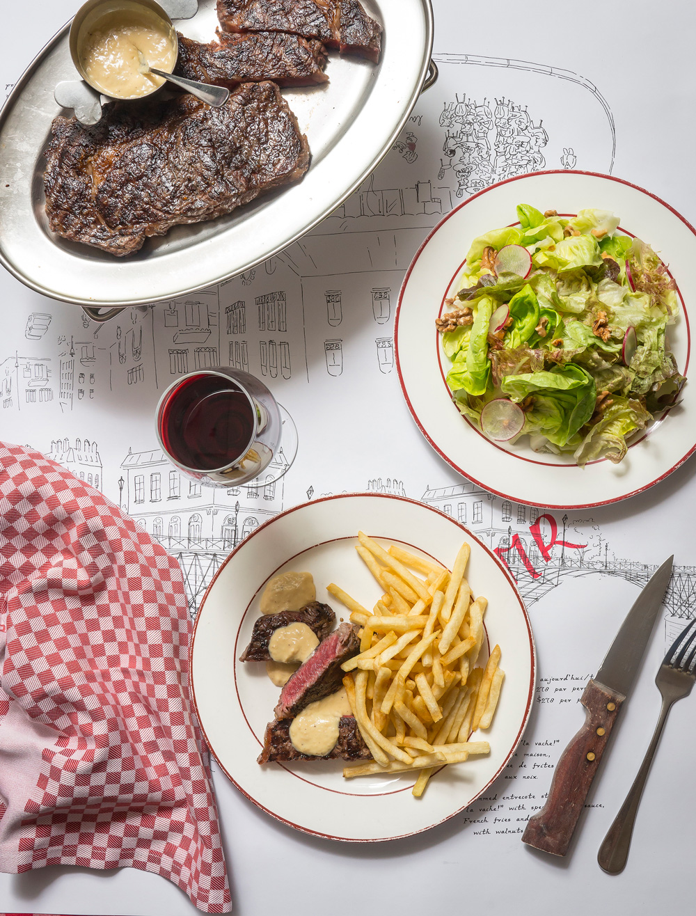 Dinner at La Vache!, and your drawing could be part of it