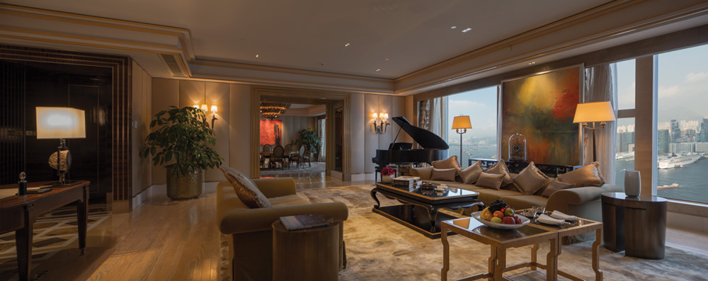 Inside the sprawling The Presidential Suite