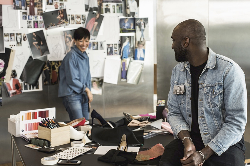 Sandra Choi of Jimmy Choo and Virgil Abloh of Off-White