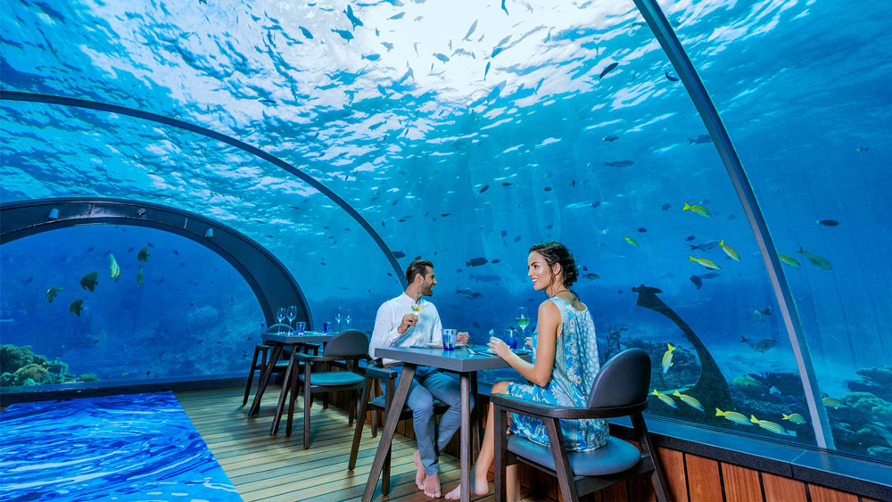 The newest, and biggest (for now) underwater restaurant in the world