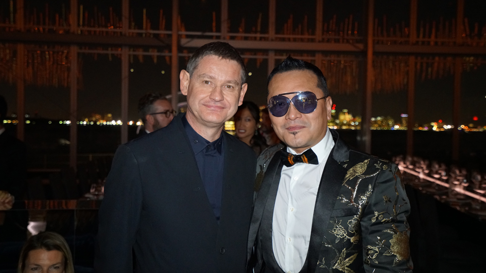 Gordon  Lam gets the full-on Cartier treatment, meeting CEO Cyrille Vigneron