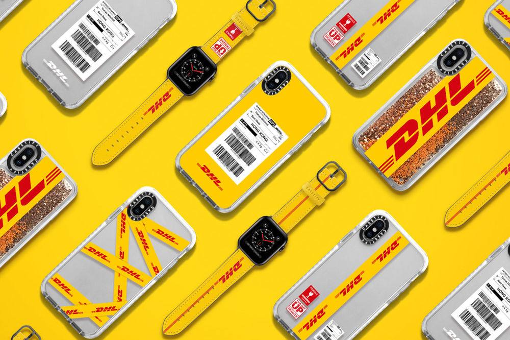 CASETiFY x DHL iPhone Case and Apple Watch