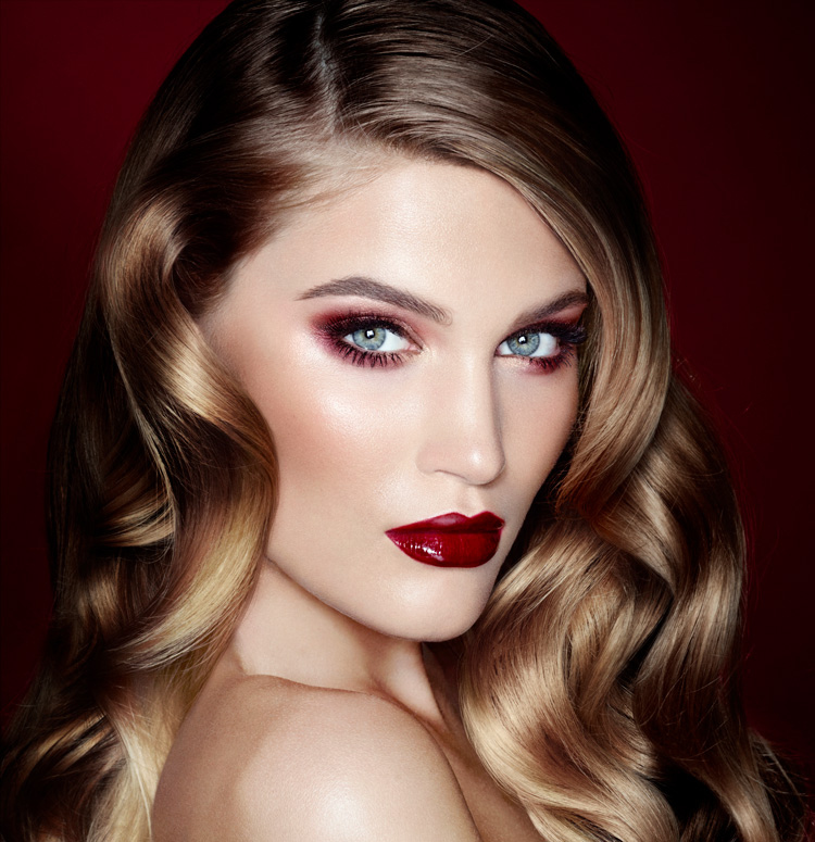 The Vintage Vamp, one of Charlotte Tilbury's many official looks
