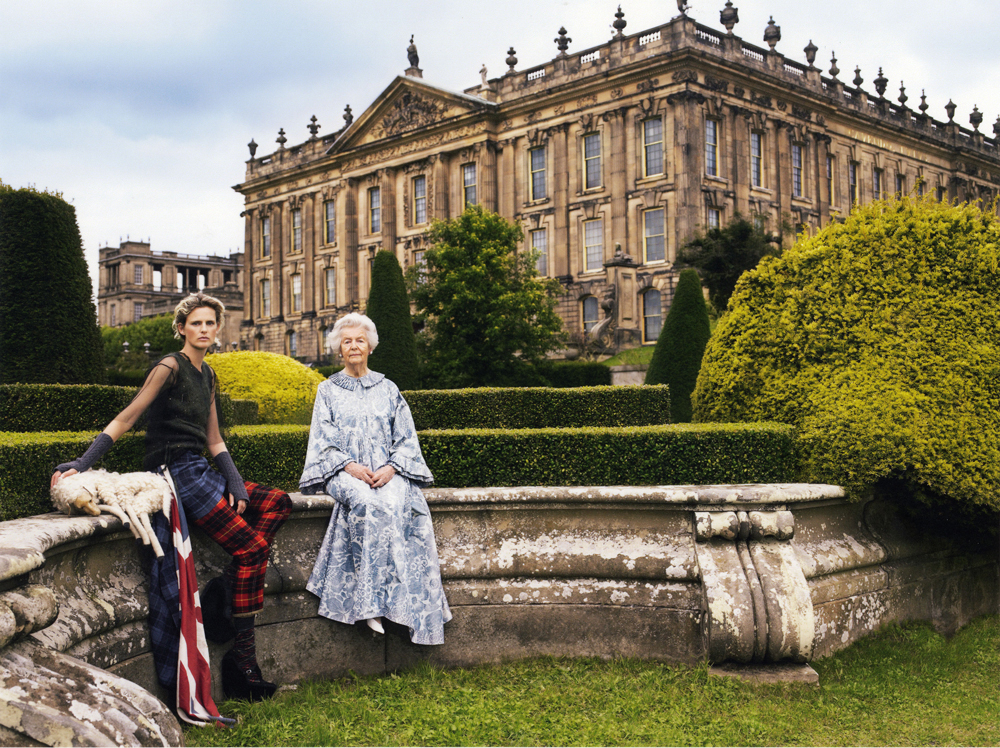Gucci's Chatsworth House exhibit in England