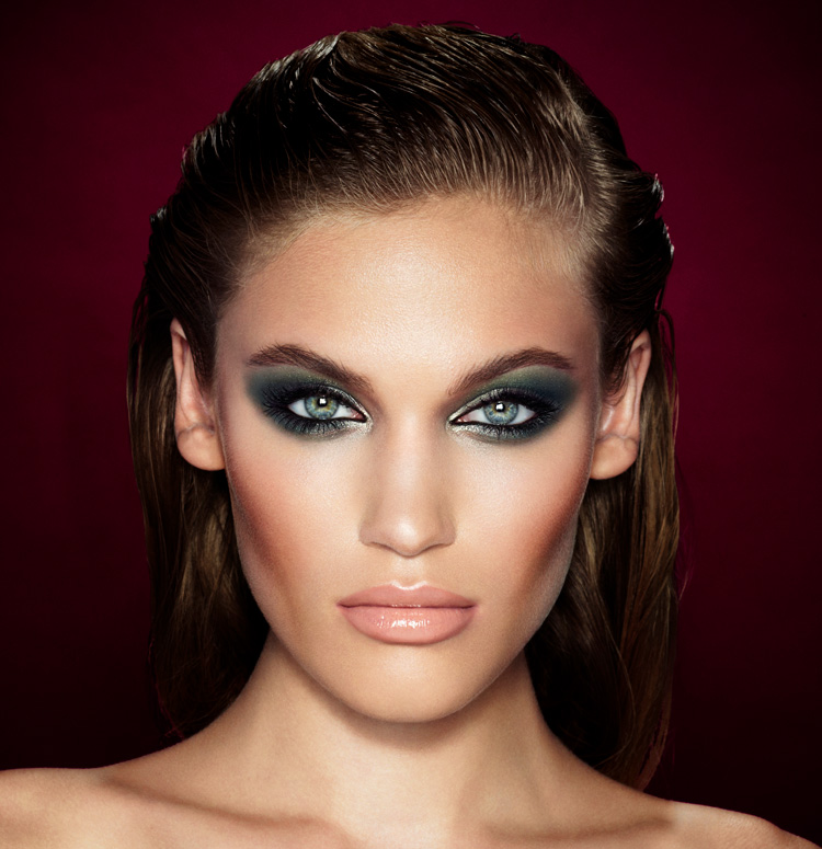 'The Rebel', one of ten looks from Charlotte Tilbury