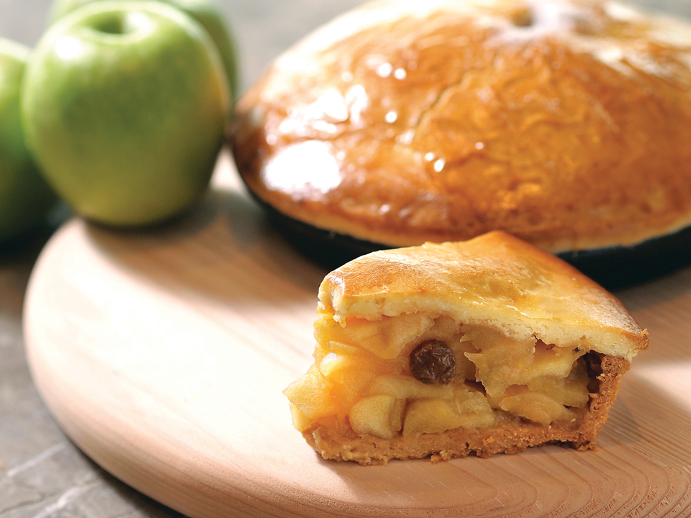 Hyatt Regency Sha Tin's best-selling Sha Tin Apple Cake - made with Wing Wo Bee Farm honey