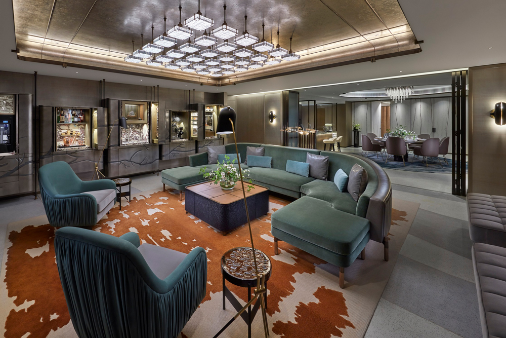 The Landmark Mandarin Oriental's Entertainment Suite is the perfect spot for any occasion