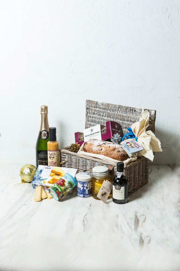 The 'Best of Christmas' hamper from Feather & Bone