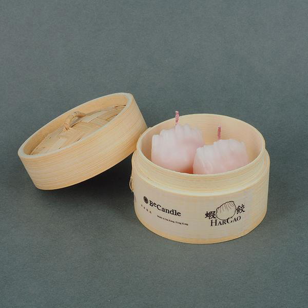 Yum cha shaped candles make a great gift