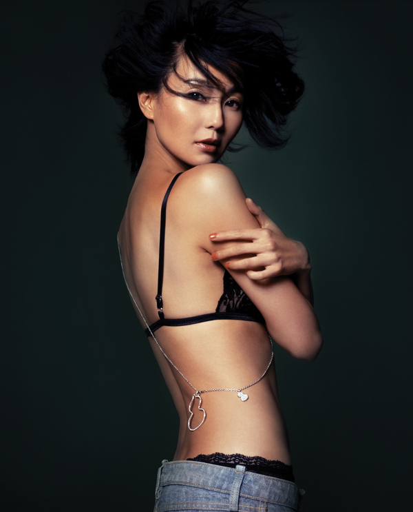 Former brand ambassador and Qeelin muse, Maggie Cheung
