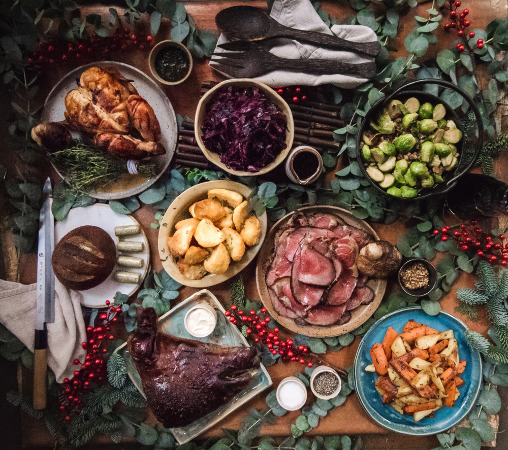 A Christmas feast for meat-lovers at Rhoda