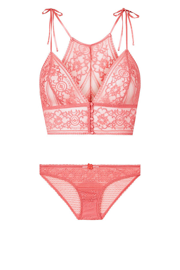 The Ophelia Whistling lingerie set