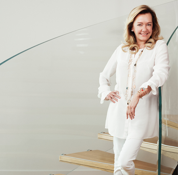 Caroline Scheufele, the co-president of Chopard