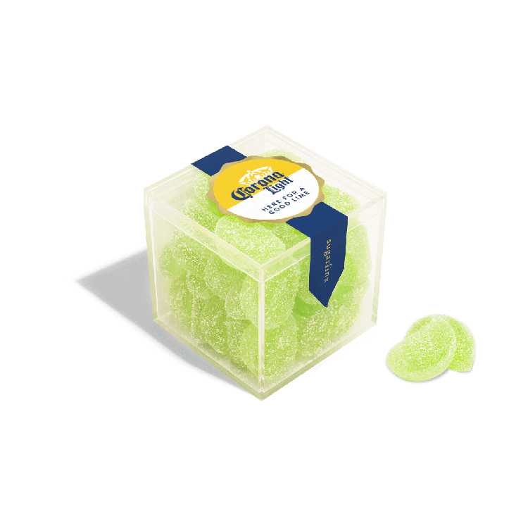 Lime-flavoured Gummies