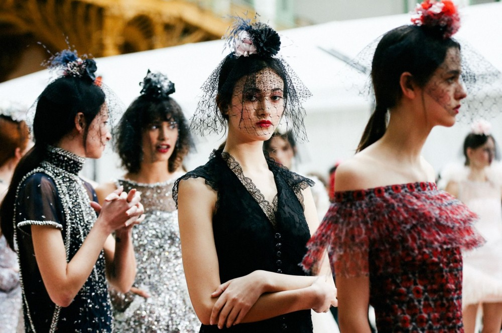 A picture of Chanel Haute Couture SS18 show (photo: courtesy of Chanel)