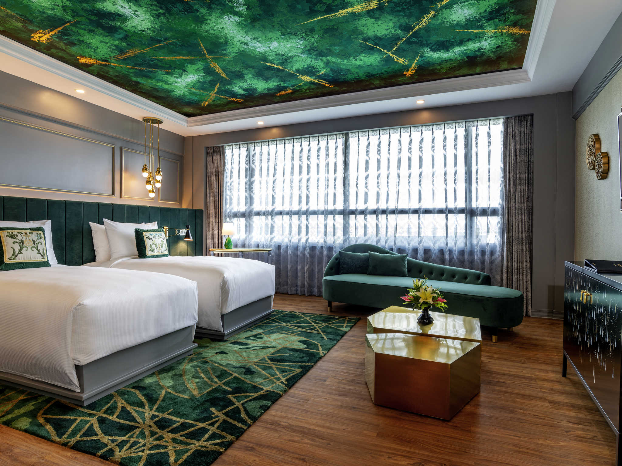 The Emerald Room at the Grand Mercure in Yangon