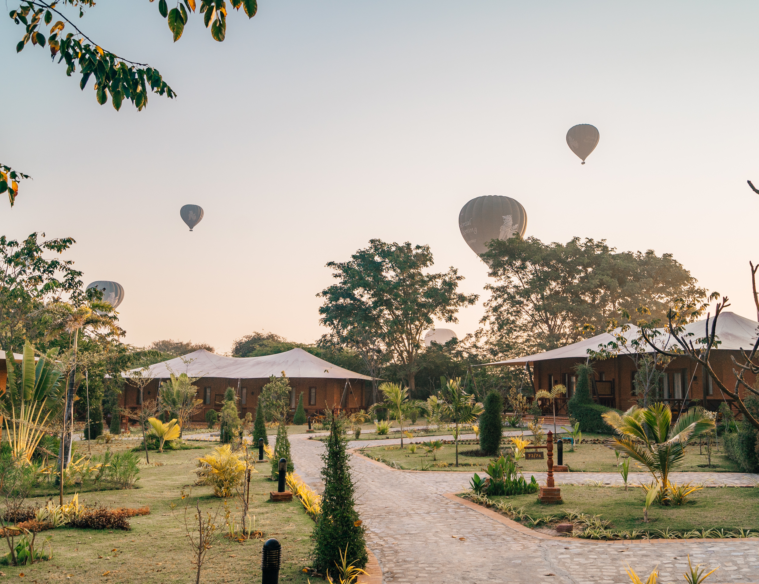 The Bagan Lodge Hotel in the Mandalay region of Myanmar