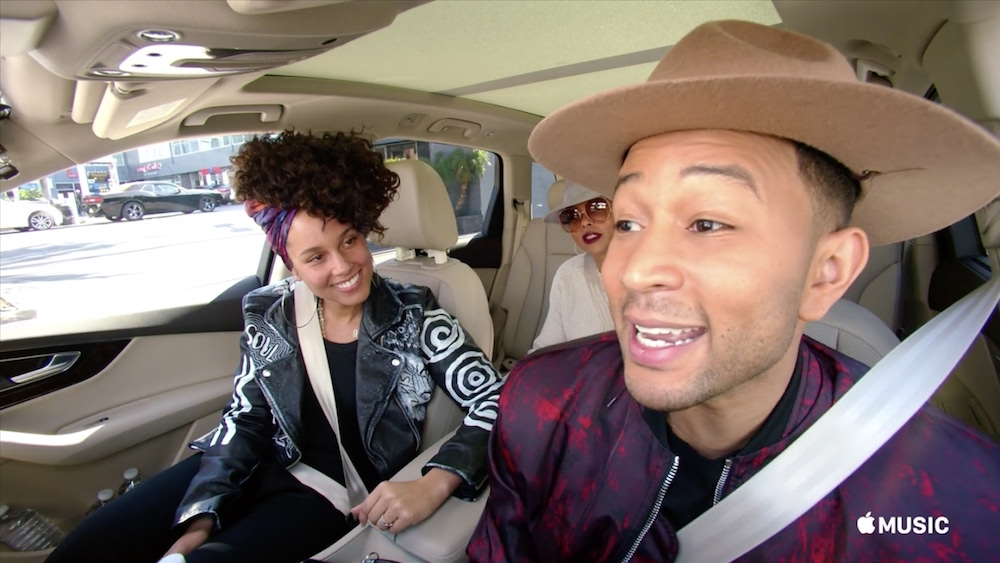 Carpool Karaoke with John Legend and Alicia Keys on Apple Music