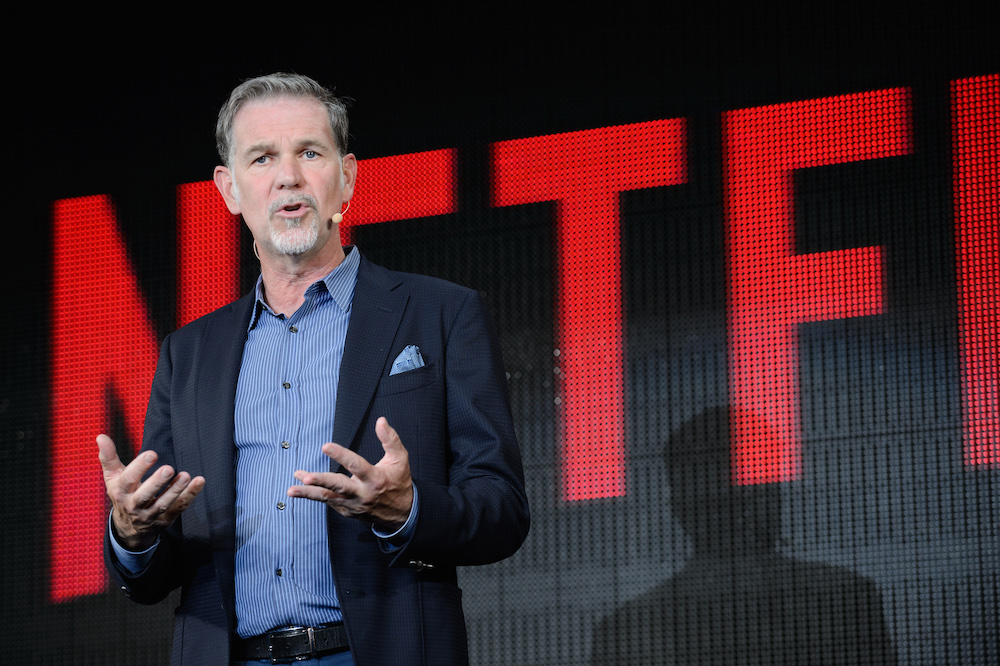 Netflix founder Reed Hastings (photo Akio Kon/Bloomberg via Getty Images)