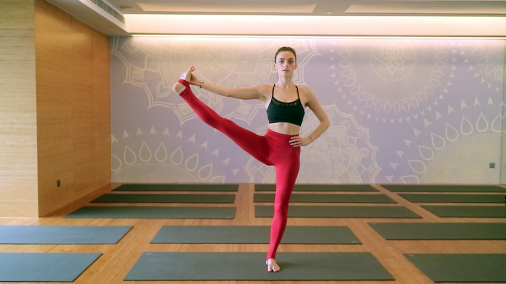 Morgan Guth and Tryphena Chia show us what to look out for when doing these common yoga poses