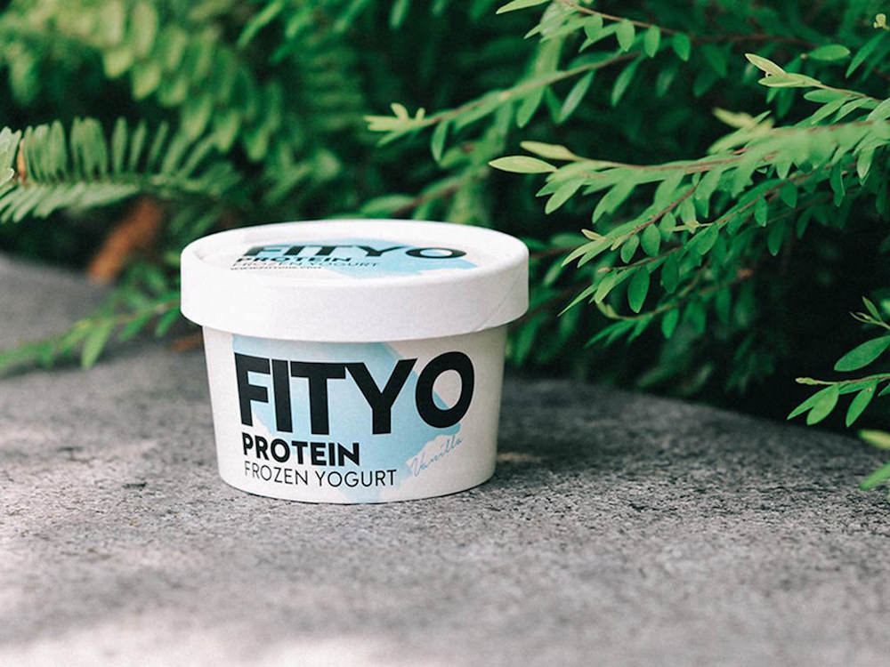 FITYO frozen yogurt in vanilla