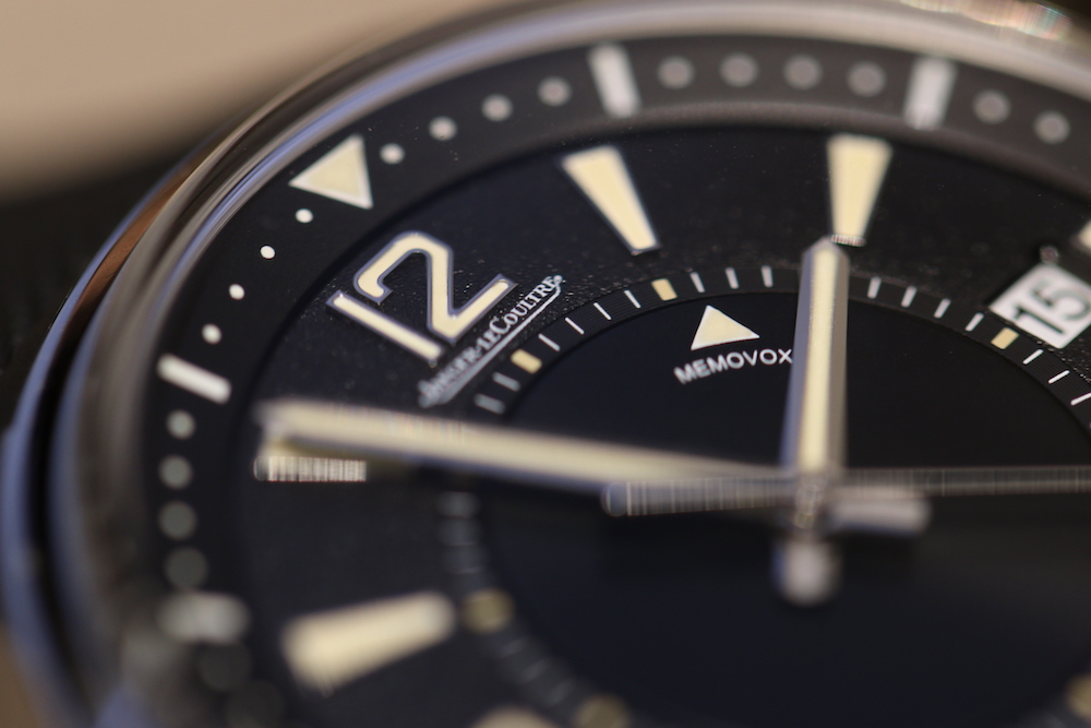 An up-close look at the Jaeger-LeCoultre Memovox Polaris