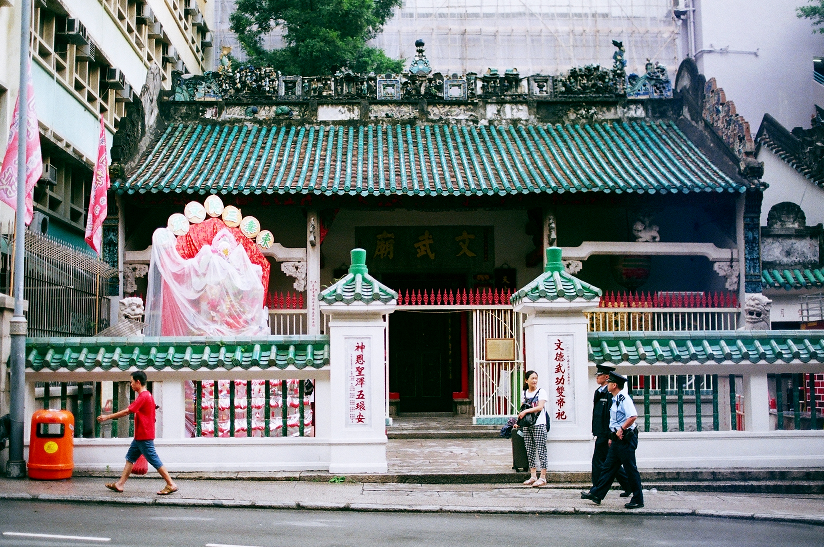 This historical landmark is one of the only authentically standing temples in the Central district