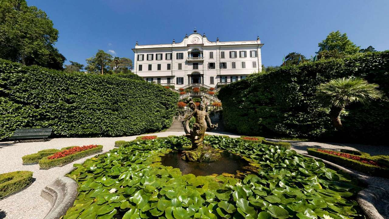 Villa Carlotta from the botanical garden (Photo: Como Tourism)