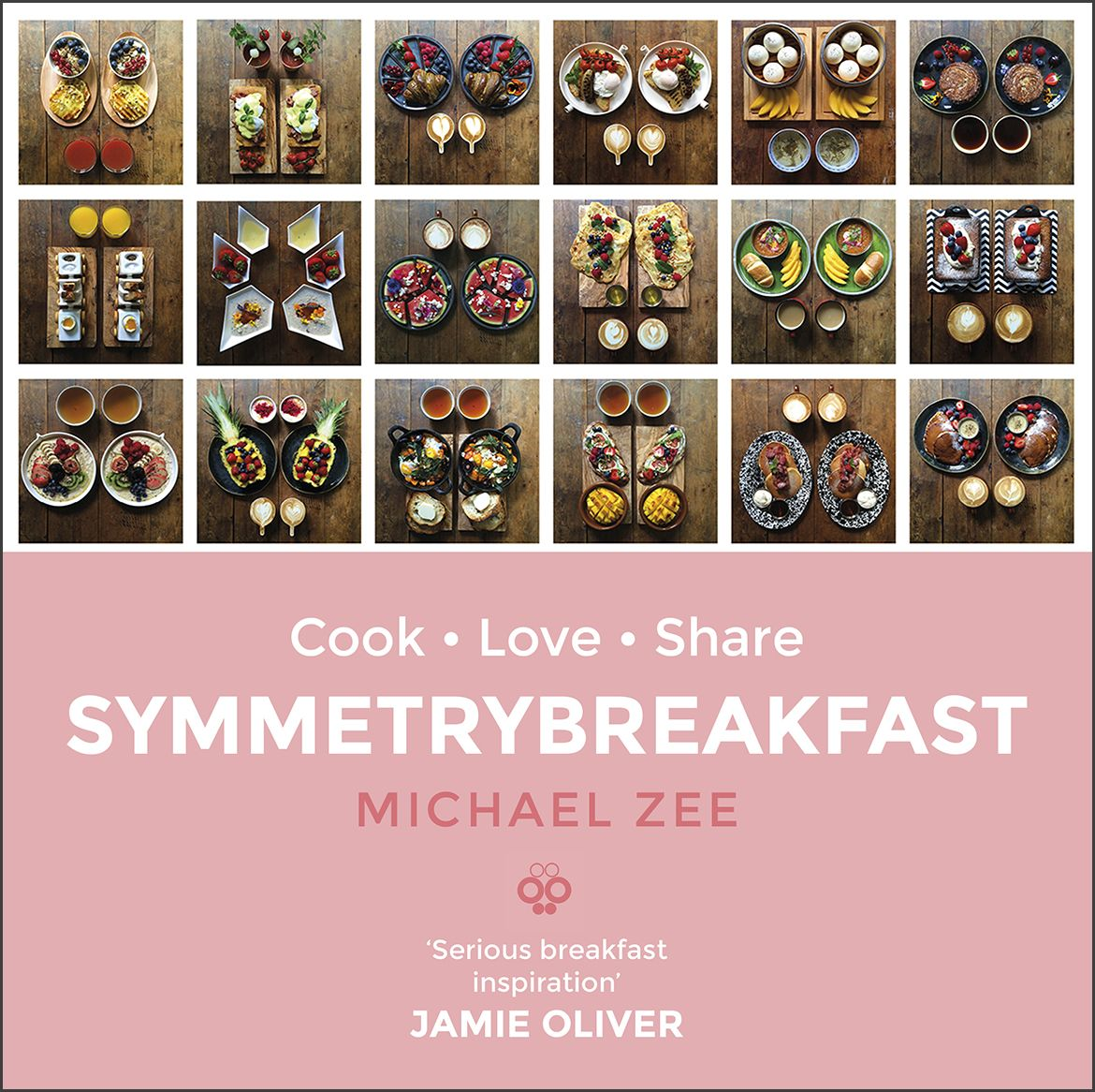 SymmetryBreakfast became a cooking book published worldwide in four languages