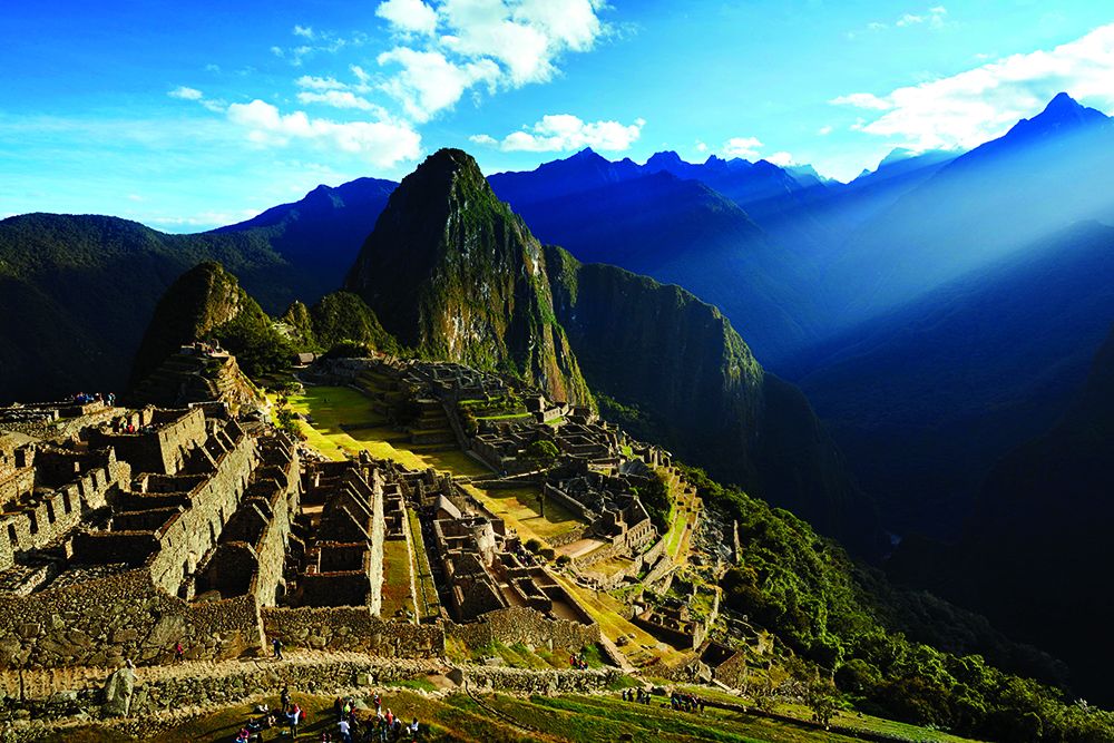 Machu Picchu in all of its glory
