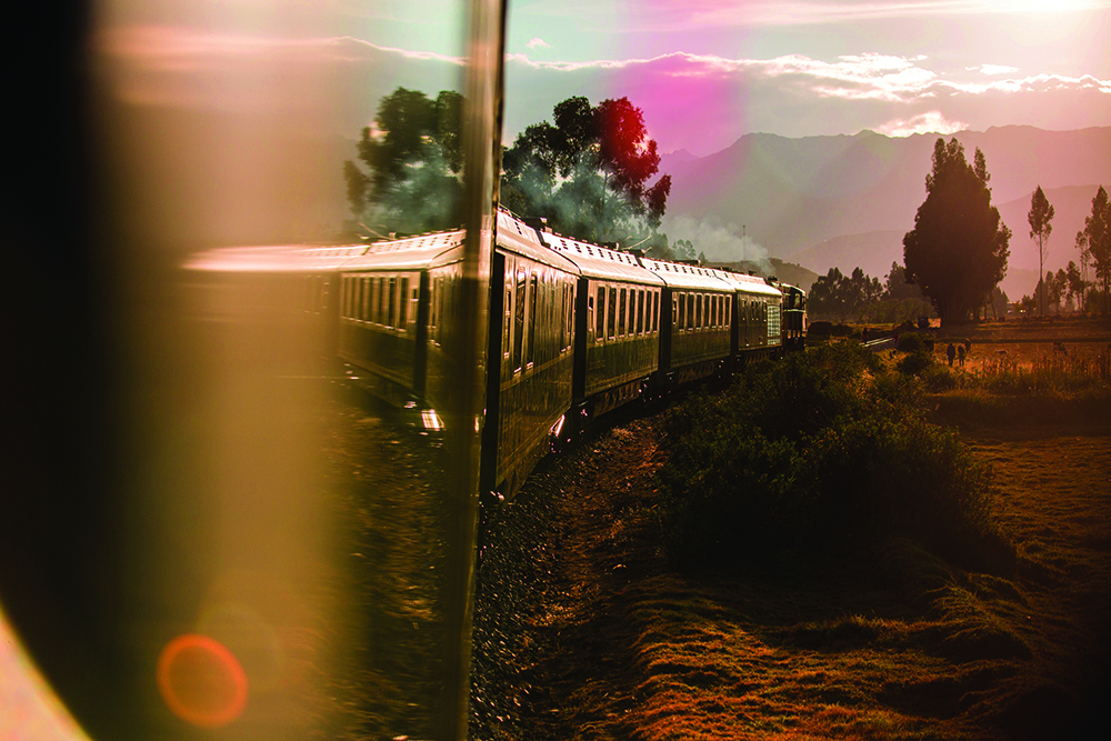 The luxurious Belmond Hiram Bingham