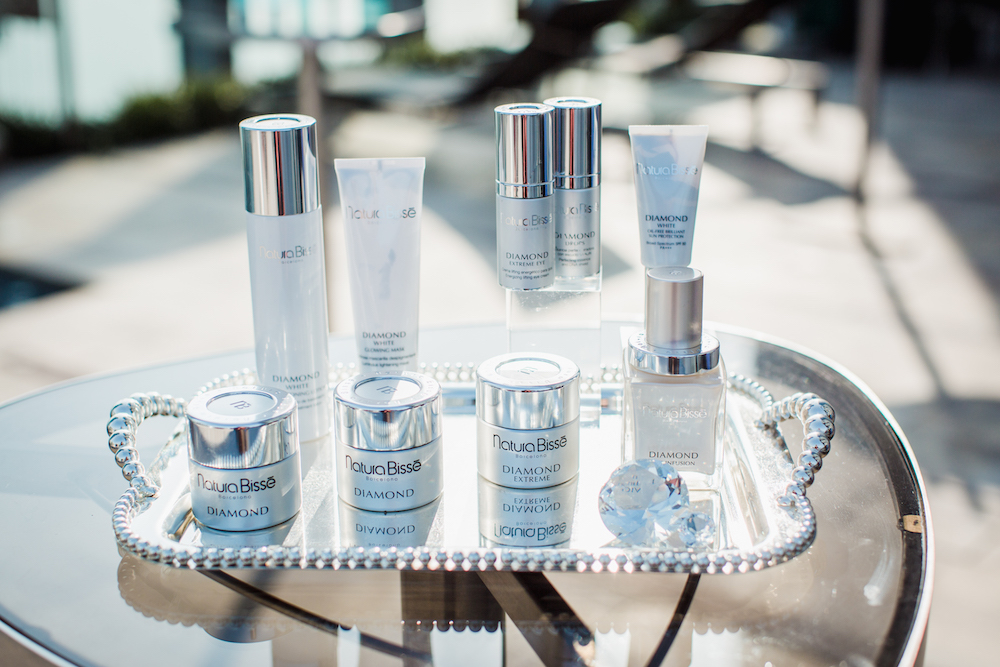 The luxurious and nutrient-rich Natura Bissé Diamond collection