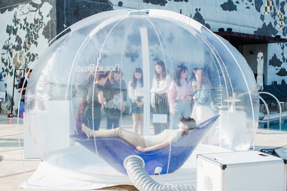 Natura Bissé Bubble Pure Air at W Hong Kong