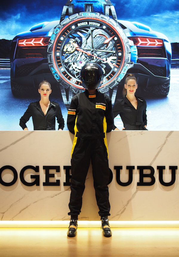 The Roger Dubuis booth at SIHH