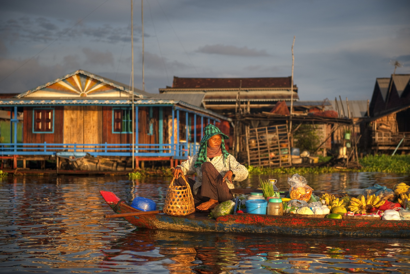 Tonle Sap is one of the biggest water basins in Southeast Asia and the country's main source of fish (photo: Asia Travel)