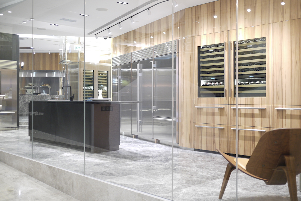 Sub-Zero & Wolf's showroom features 2,000 square feet of retail space