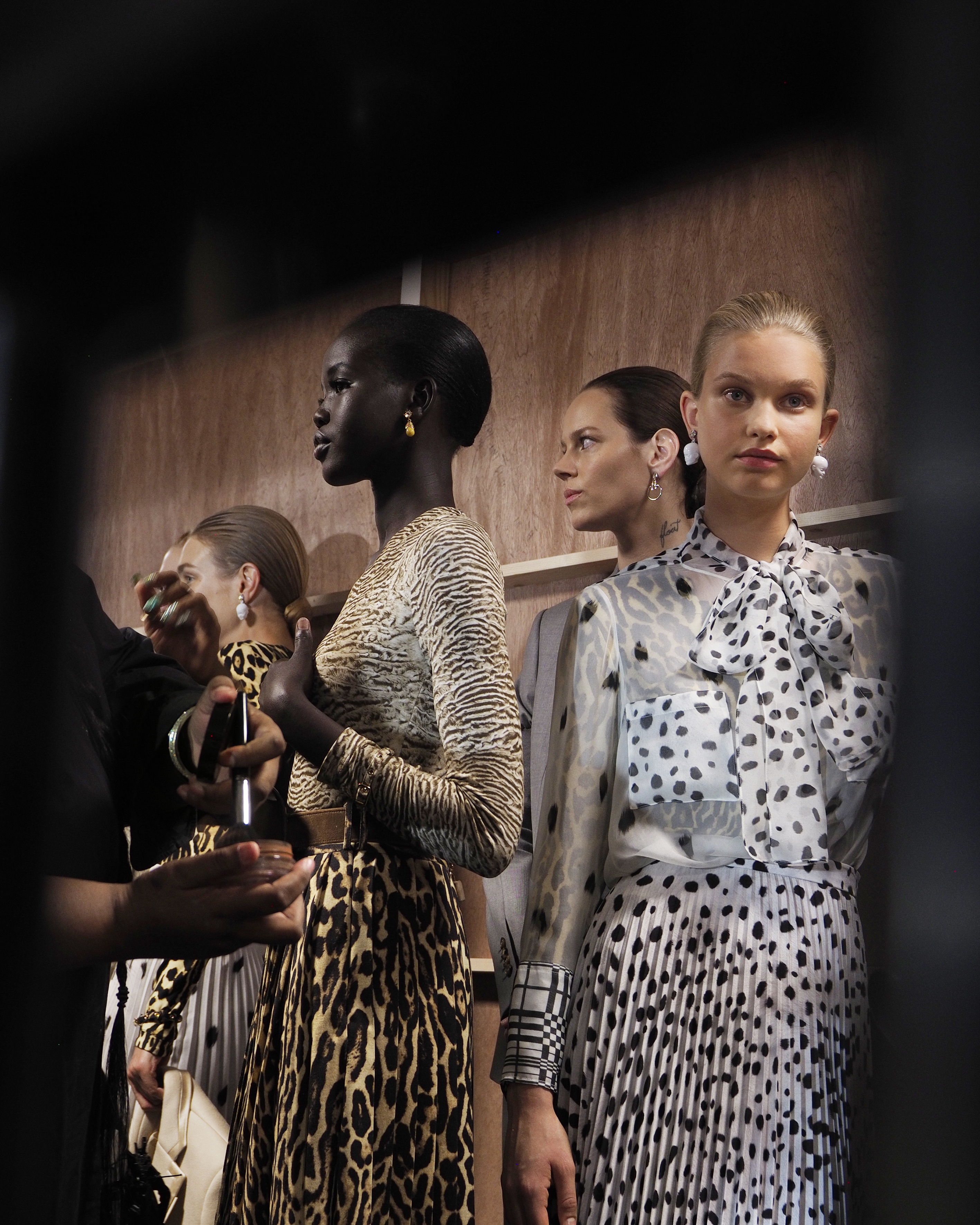 An abundance of animal prints were observed across both menswear and womenswear