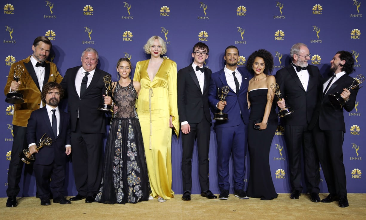 The cast of Game of Thrones at the 2018 Primetime Emmy Awards in Los Angeles (photo: Shutterstock)