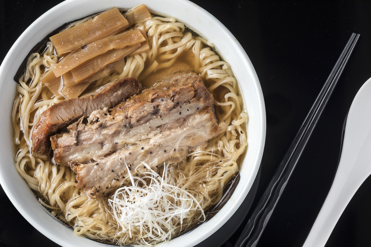 The Sea, a soy soup-based ramen at Ramen Cubism
