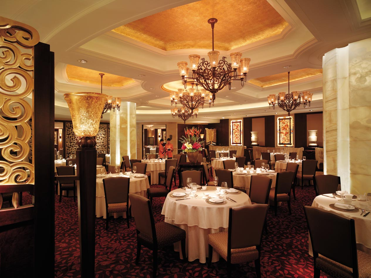 The Shangri-La China World Hotel has five restaurants; pictured here, Summer Palace serves traditional and regional Chinese specialities; photo: courtesy of Shangri-La